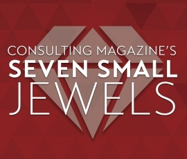 Verity Wins Consulting Magazine's Seven Small Jewels Award